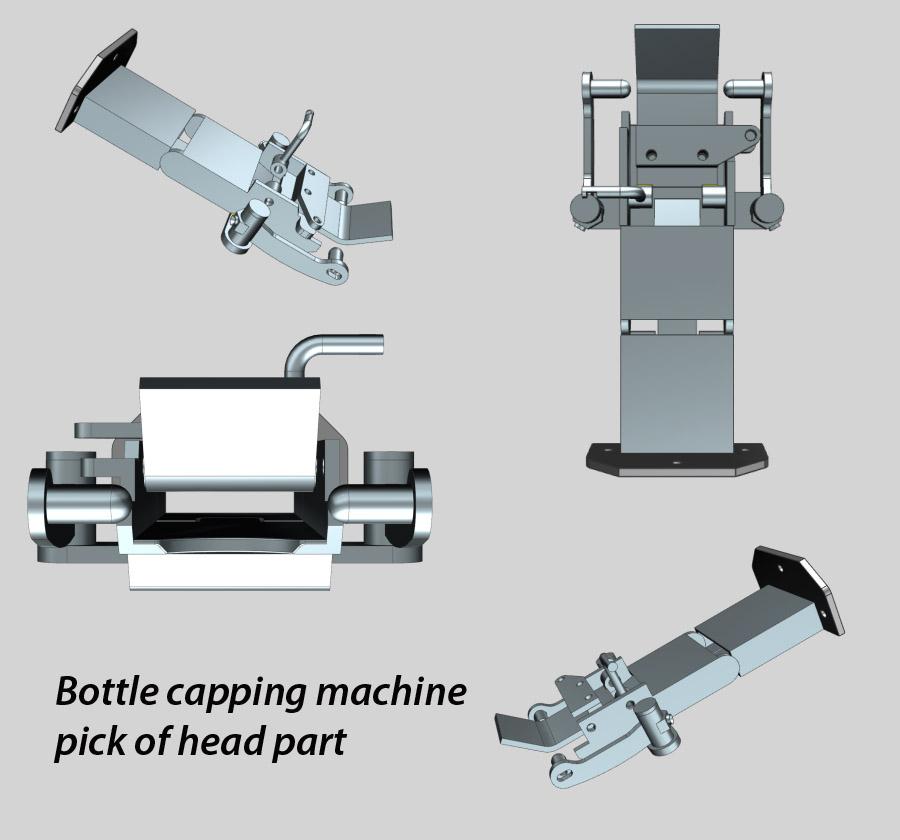 Bottle Capping Machine Pick of Head Parts, Bottle capper spare parts