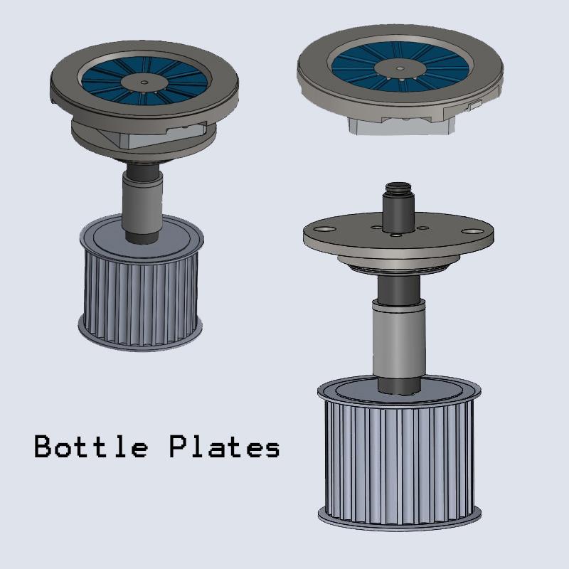 Labeller Bottle Pads, Labelling Bottle plate insert, Labeler Bottle support plates, Bottle Labeller Bottle Pads, Bottle Labelling Machine Bottle Plates