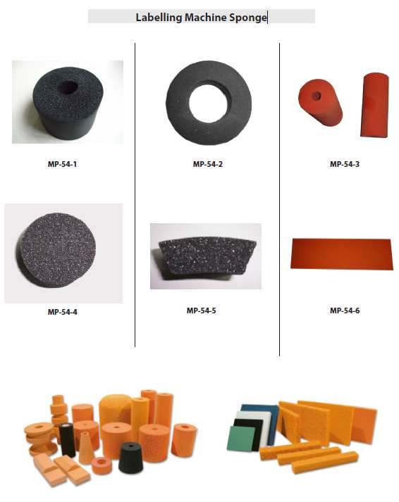 Labelling Machine Sponge, Labeller Sponge Roller, Labeller Glue Cylinder Sponge, Labeller Glue Cylinder Foam, Labeller Foam Rubber