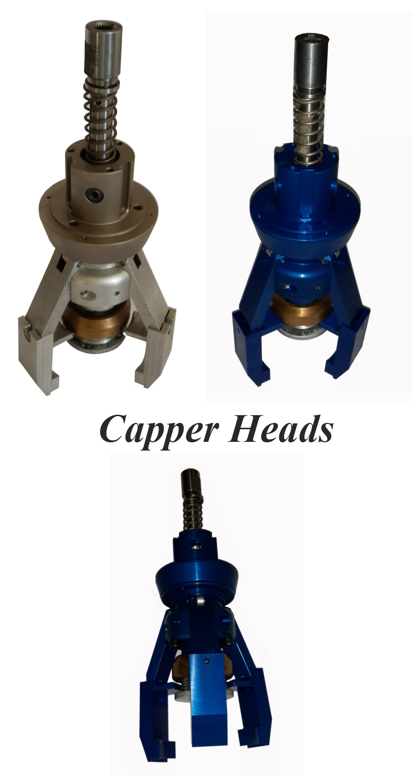 Trigger Capper Capping Machine Heads, Trigger Spray Inserter, Rotary Trigger Capper Heads