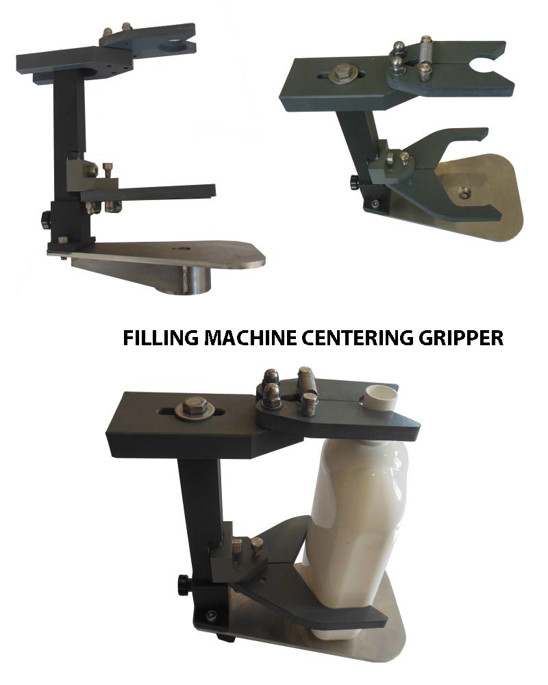 Filling Machine Centering Gripper, Filler Gripper, Bottle Filler centering Head, Bottle Filling Gripper