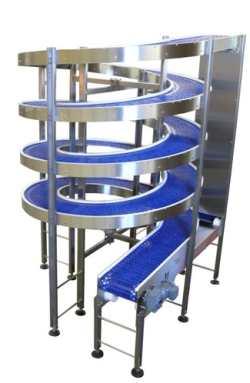 Bottling line Spiral Conveyors