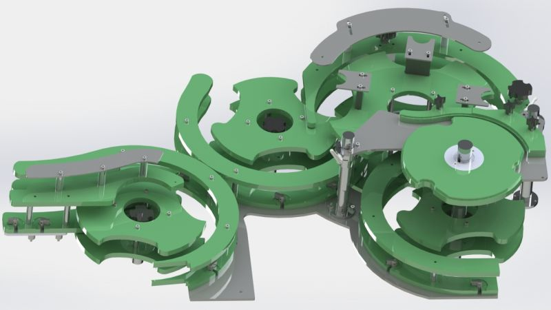 Quick Change Star Wheels Modification for Filler, Quick Change Systems for Filling Machine,Elektromag Filling machine Quick change modification and revision