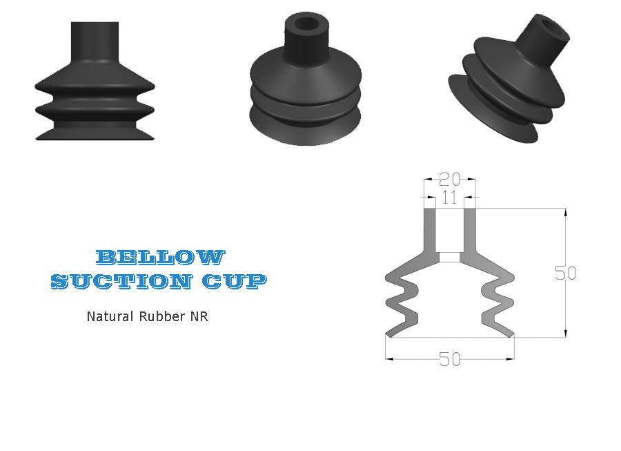 Bellow Suction Cup, Bellows Suction Cup, Bottling Line Bellow Suction Cup